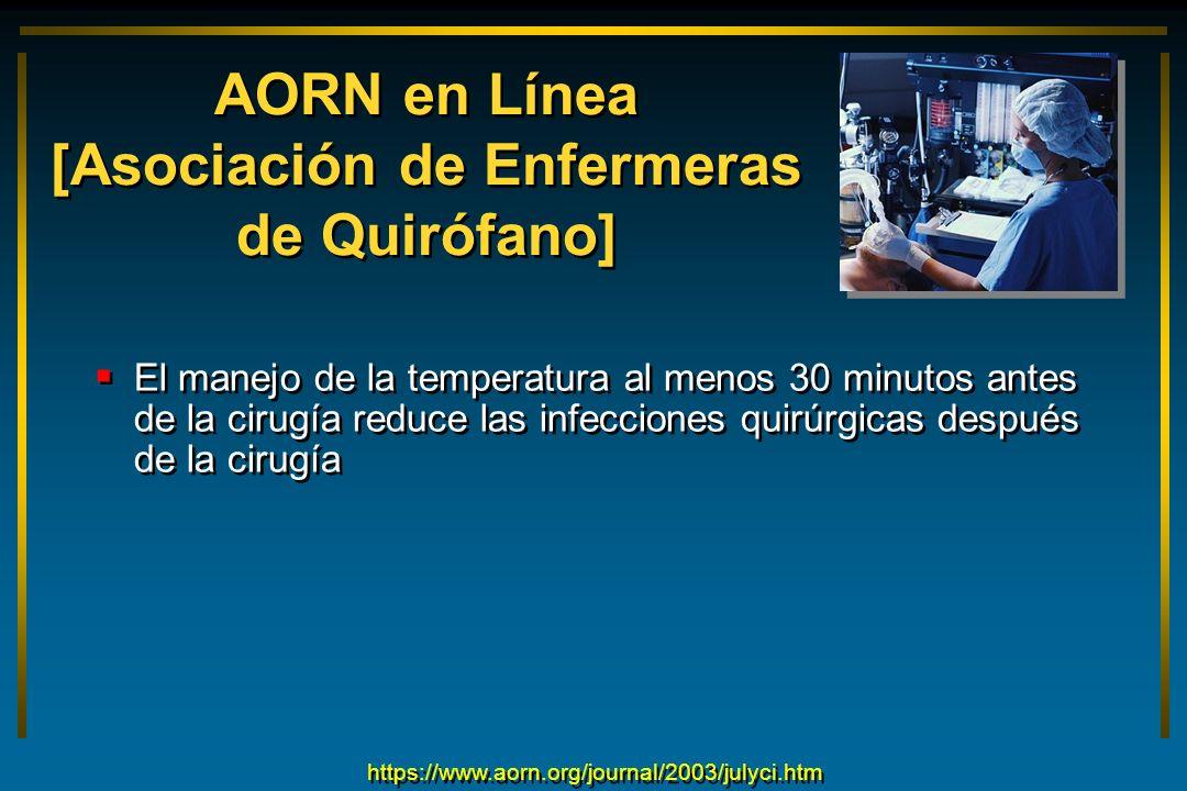 AORN en Línea [Asociación de Enfermeras de Quirófano]